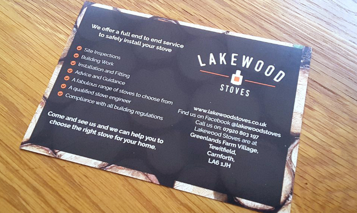 Lakewood Stoves Flyer