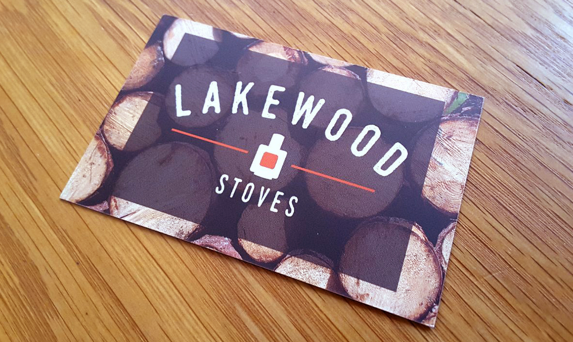 Lakewood Stoves Business Cards