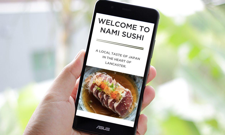 Nami Sushi on Mobile
