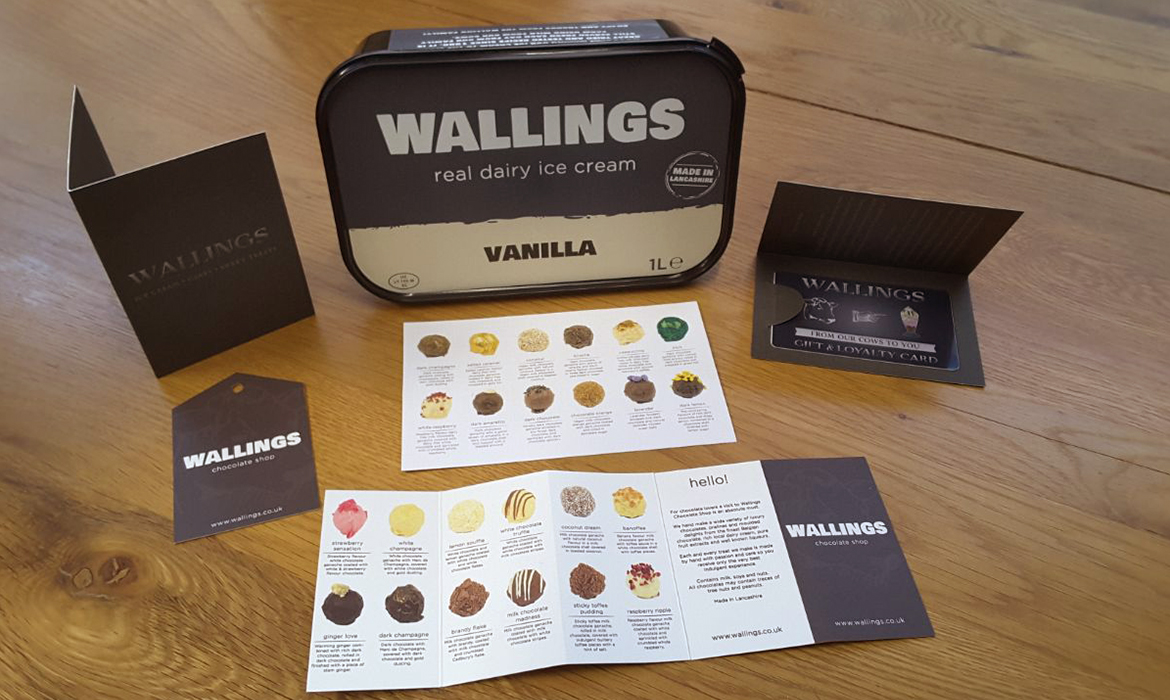 Wallings Branding, Print and Product Design